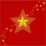 Estrella del oro del ejército. Victory Day Fotografía de archivo libre de regalías