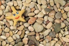 Estrella del Plasticine en tabla del mar Imagen de archivo