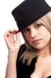 Estrella del pop atractivo Fotografía de archivo libre de regalías