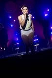 Estrella del pop británico Jessie J Imagen de archivo