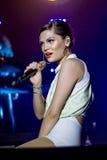 Estrella del pop británico Jessie J Fotografía de archivo