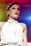 Estrella del pop británico Jessie J Foto de archivo