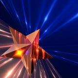 Estrella del resplandor. Fotos de archivo