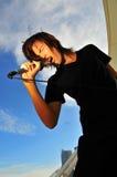 Estrella del rock 25 Fotos de archivo libres de regalías