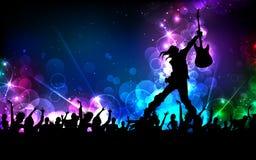 Estrella del rock Imágenes de archivo libres de regalías