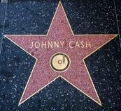 Estrella del ` s de Johnny Cash, paseo de Hollywood de la fama - 11 de agosto de 2017 - Hollywood Boulevard, Los Ángeles, Califor fotos de archivo libres de regalías