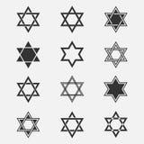 Estrella del sistema del vector de David Fotografía de archivo