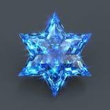 Estrella del zafiro chispeante de David libre illustration
