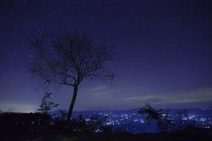 Estrella en el cielo fotos de archivo