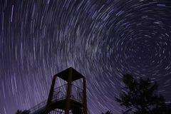 Estrella en la diapositiva Imagen de archivo