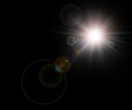Estrella, fondo del sol Fotos de archivo