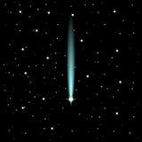 Estrella fugaz Fotografía de archivo libre de regalías