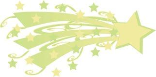 Estrella fugaz Foto de archivo libre de regalías