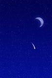 Estrella fugaz Imagen de archivo libre de regalías