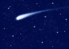 Estrella fugaz Imagenes de archivo