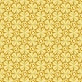 Estrella interminable del oro de la trama Fotos de archivo