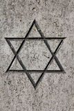 Estrella judía Fotografía de archivo