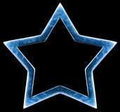 Estrella metálica Fotografía de archivo libre de regalías