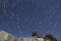 Estrella polar foto de archivo libre de regalías