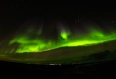 Estrella polar de la aurora Imágenes de archivo libres de regalías