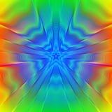 Estrella psicodélica Fotos de archivo libres de regalías