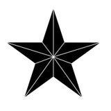 Estrella que muestra imagen del icono de la autoridad militar libre illustration