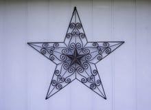 Estrella rústica del metal Imágenes de archivo libres de regalías