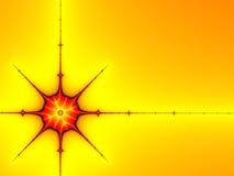Estrella roja Imagen de archivo libre de regalías