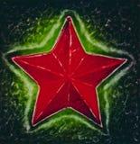 Estrella roja Fotos de archivo