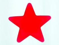 Estrella roja Foto de archivo