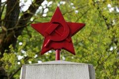Estrella roja Fotos de archivo libres de regalías