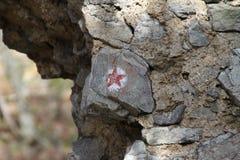 Estrella roja Imagenes de archivo