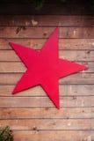 Estrella roja Imágenes de archivo libres de regalías