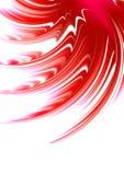 Estrella roja abstracta Fotos de archivo