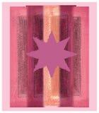Estrella rosada ilustración del vector