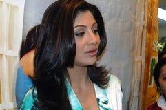 Estrella Shilpa Shetty de Bollywood Imagen de archivo libre de regalías