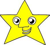 Estrella sonriente Fotografía de archivo