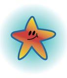 Estrella sonriente Foto de archivo libre de regalías