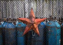 Estrella soviética Imagen de archivo libre de regalías