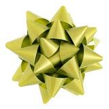 Estrella verde Fotografía de archivo