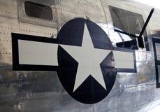 Estrella y barras Imagen de archivo libre de regalías