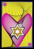 Estrella y corazón Imagenes de archivo