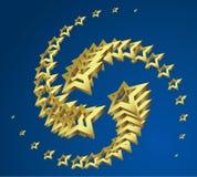 Estrellas. ilustración del vector