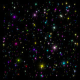 Estrellas abigarradas Imágenes de archivo libres de regalías