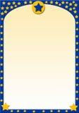 Estrellas amarillas Imágenes de archivo libres de regalías