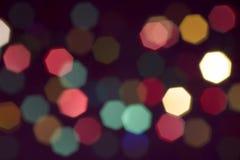 Estrellas borrosas foto de archivo
