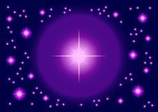 Estrellas brillantes ilustración del vector