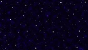 Estrellas brillantes en espacio oscuro foto de archivo libre de regalías