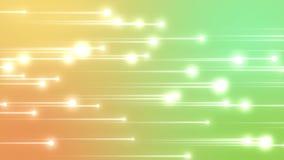 Estrellas brillantes móviles ilustración del vector