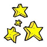 estrellas cómicas de la historieta stock de ilustración